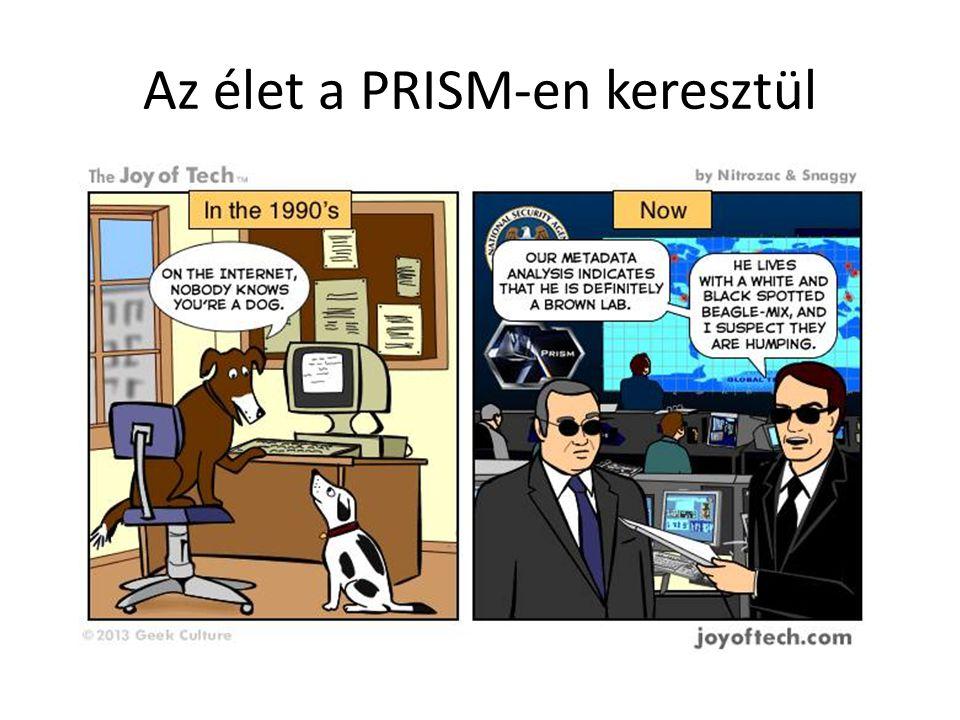 Az élet a PRISM-en keresztül