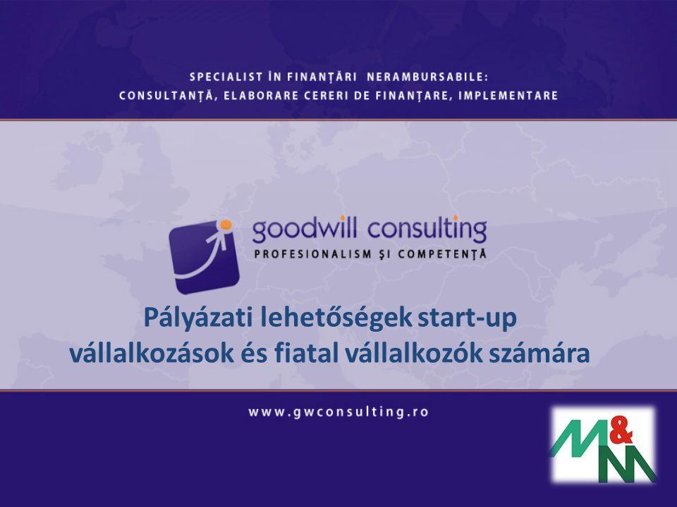Pályázati lehetőségek start-up vállalkozások és fiatal vállalkozók számára