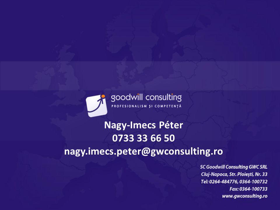 Mulţumim pentru atenţie, contactaţi-ne cu încredere! Nagy-Imecs Péter 0733 33 66 50 nagy.imecs.peter@gwconsulting.ro