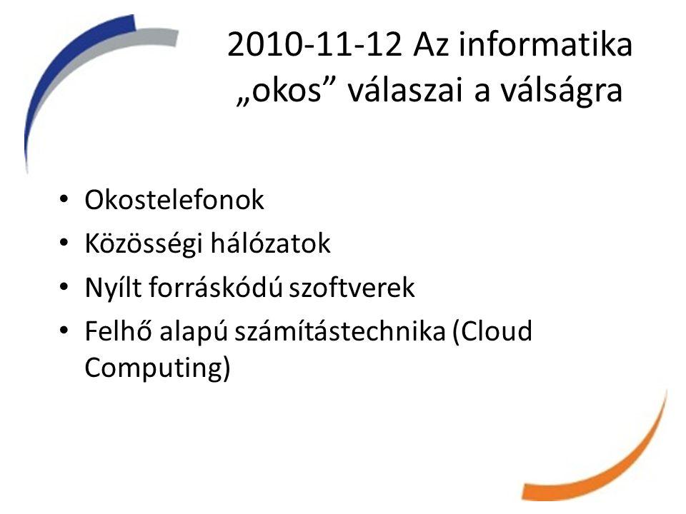 Milyen az a Cloud Computing – a Gartner szerint.