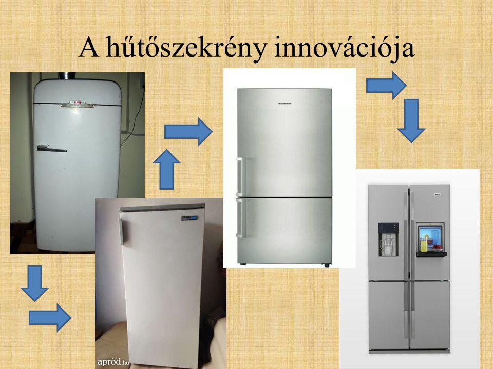 A hűtőszekrény innovációja