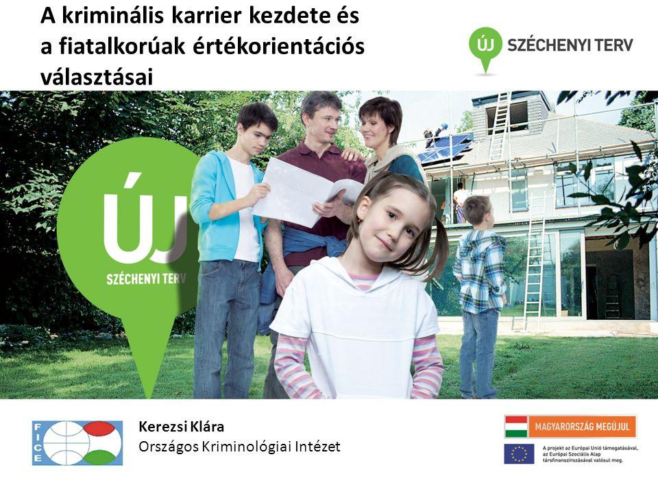 Célpopuláció: a Budapesten tanuló 14 éves fiúk A kutatást az OTKA támogatta.