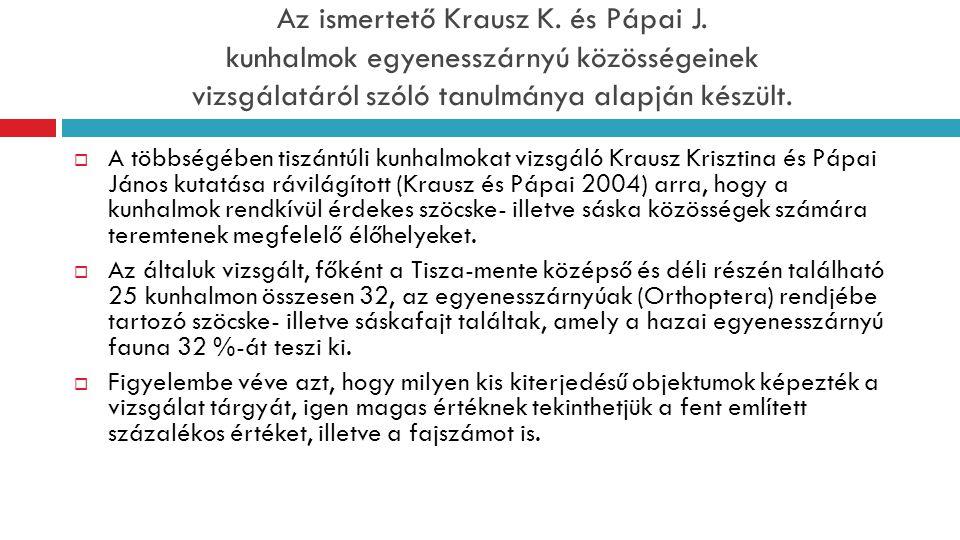 Az ismertető Krausz K. és Pápai J.