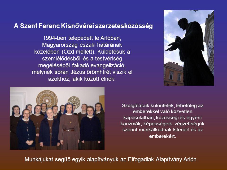 1994-ben telepedett le Arlóban, Magyarország északi határának közelében (Ózd mellett).