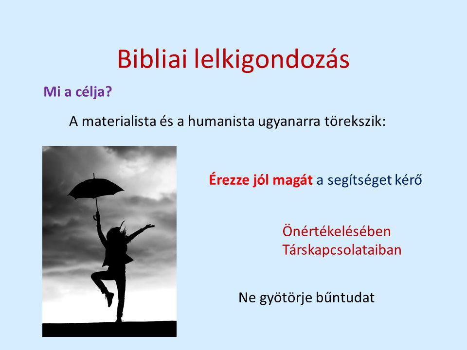Bibliai lelkigondozás Mi a célja.