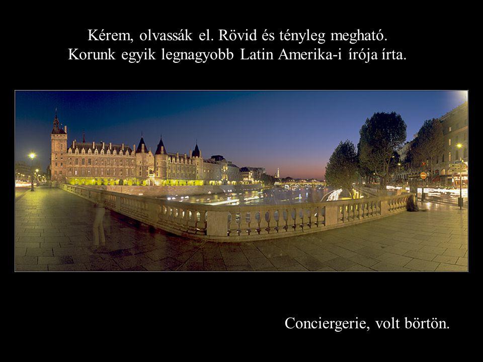 Pont des Artes hajnal idején Barátainak búcsúlevelet küldött. Köszönet az internetnek, hogy ezt széjjelküldhetjük.