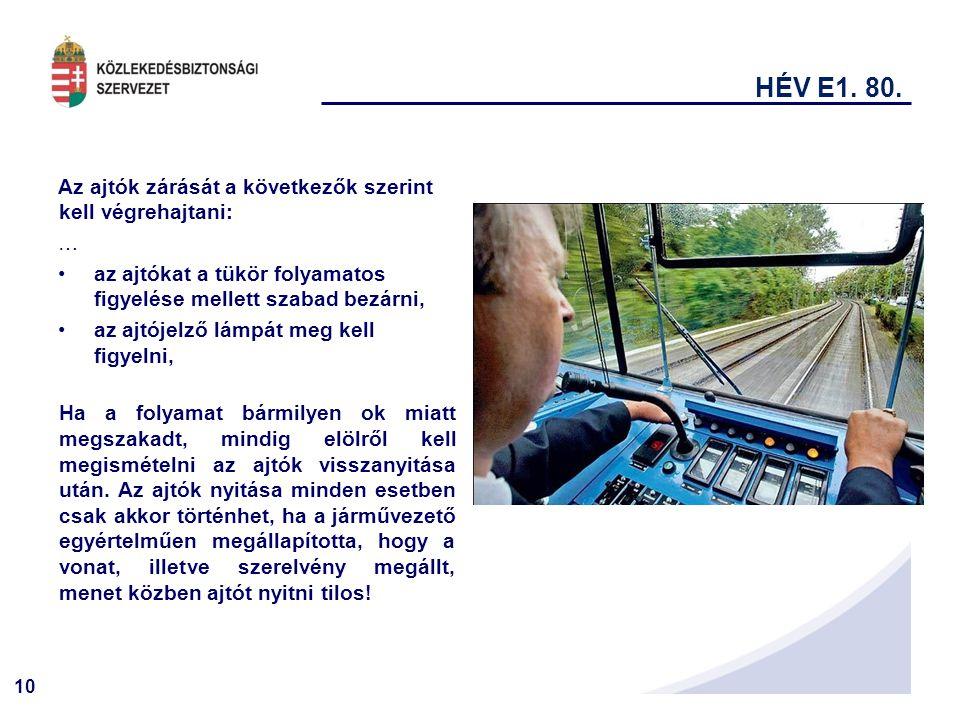 10 HÉV E1.80.