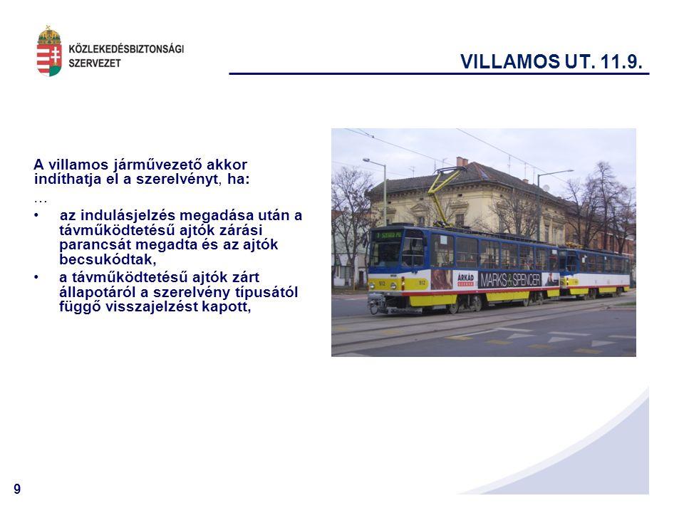 9 VILLAMOS UT.11.9.