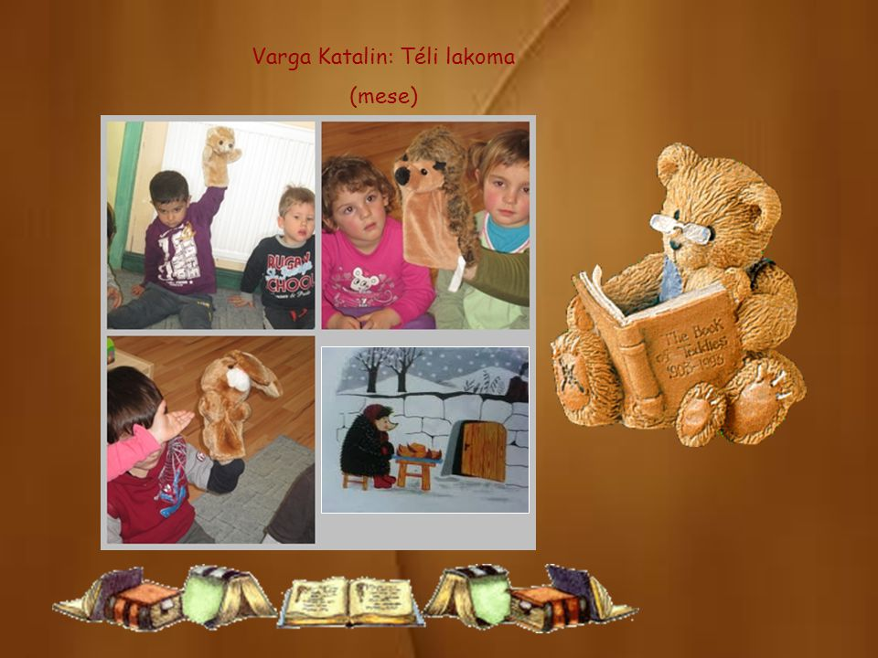 Varga Katalin: Téli lakoma (mese)