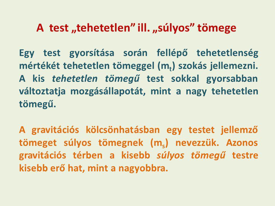 """A test """"tehetetlen ill."""
