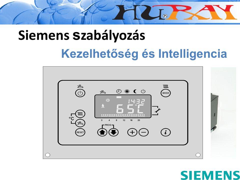 Siemens s zabályozás Kezelhetőség és Intelligencia