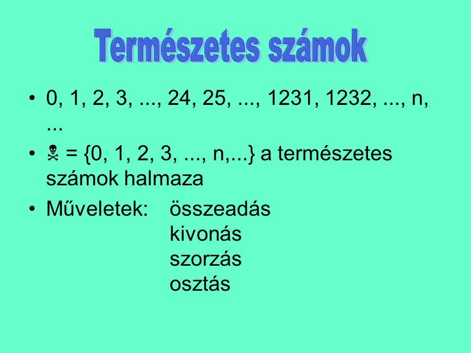 Osztók, többszörösök halmaza - Az n szám osztóinak halmaza - Az n szám többszöröseinek halmaza Pl: Az 1 és 12 nem valódi osztók (triviális osztók).