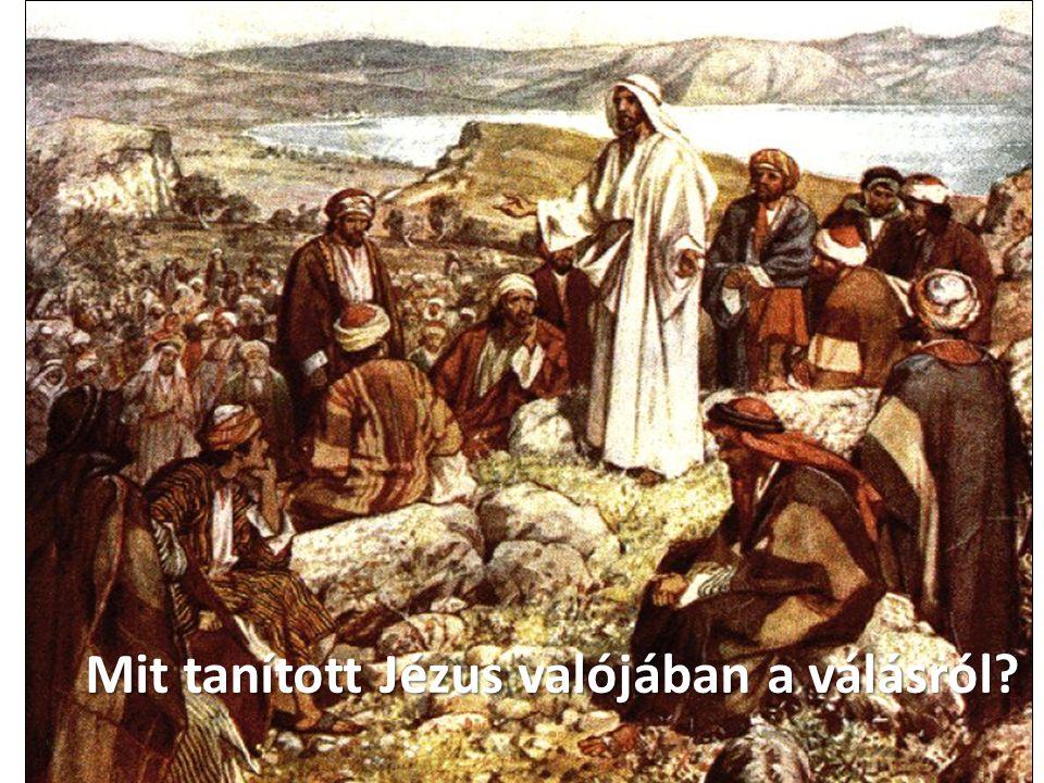 © Brouwer Pálhegyi Krisztina ∙www.bibliai.com Mit tanított Jézus valójában a válásról?