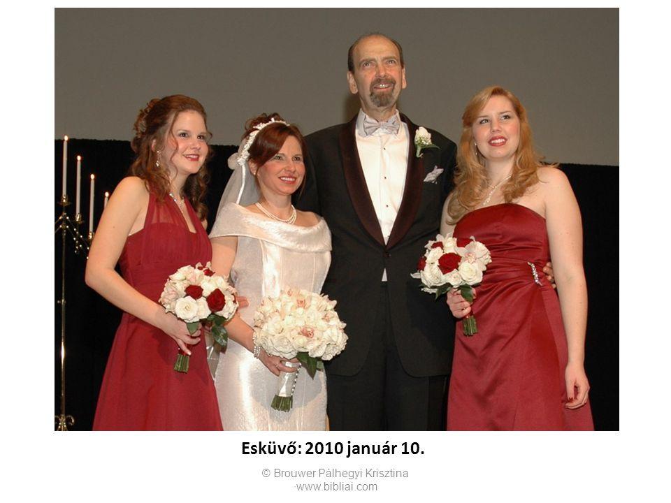 Esküvő: 2010 január 10.