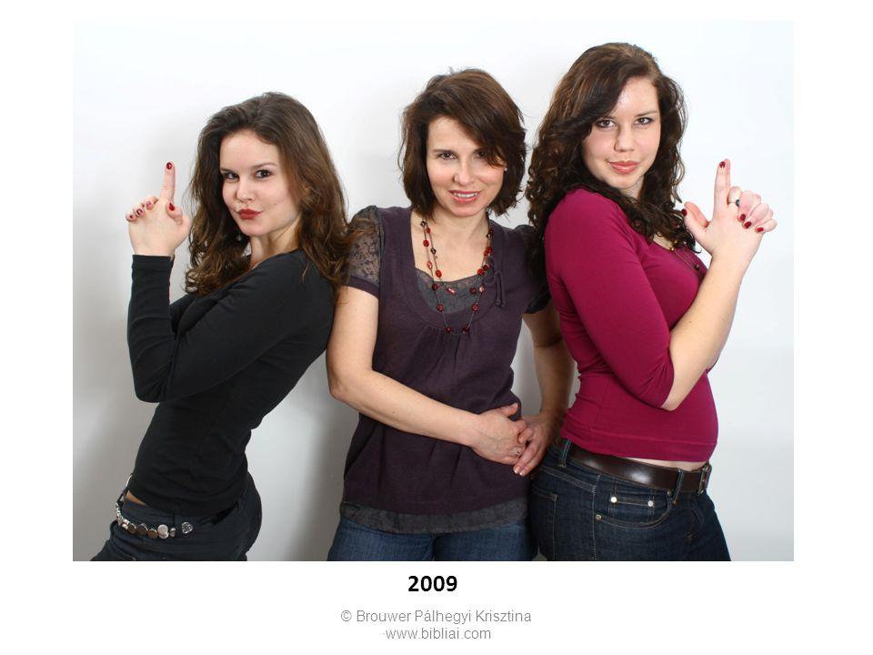 © Brouwer Pálhegyi Krisztina ∙www.bibliai.com 2009