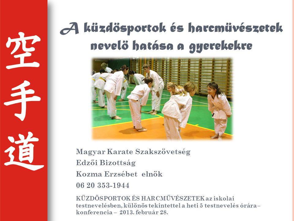 Magyarországon a harcművészetek oktatása - képzése jelenleg a közoktatástól függetlenül megjelenő és szerveződő társadalmi tevékenység.