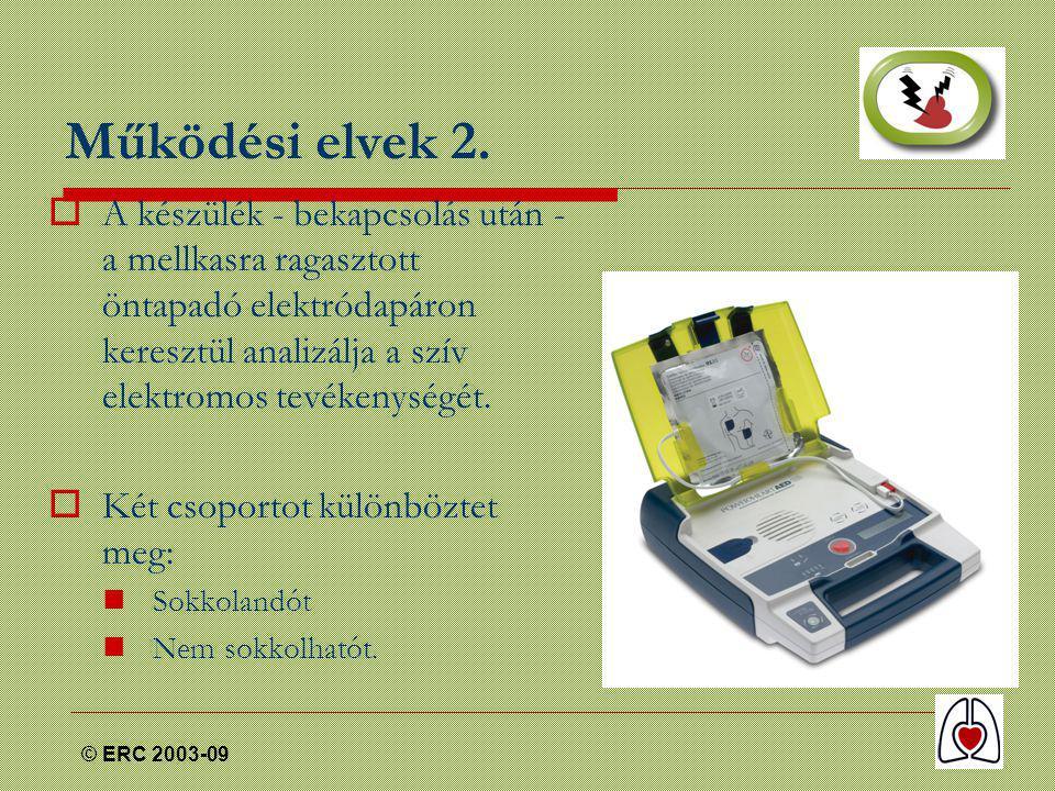 © ERC 2003-09 Működési elvek 2.
