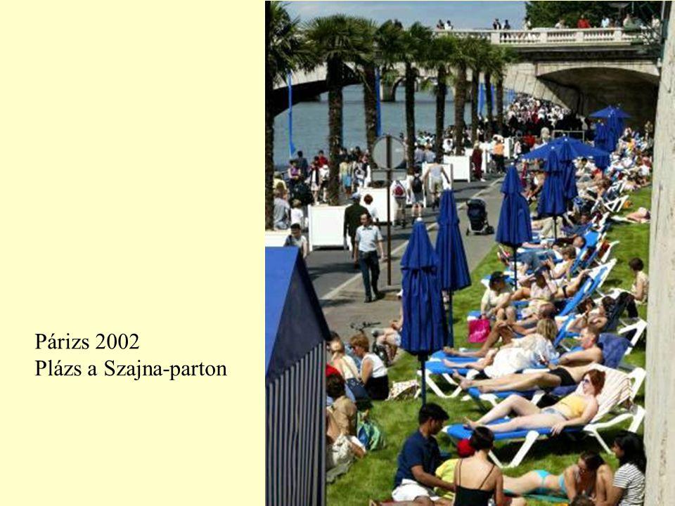 Párizs 2002 Plázs a Szajna-parton