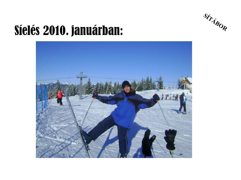 SÍTÁBOR Síelés 2010. januárban: