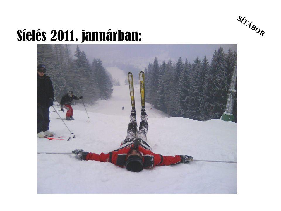SÍTÁBOR Síelés 2011. januárban:
