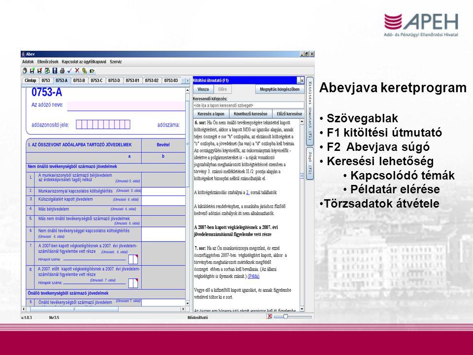 A beazonosítatlan magánszemélyek •közel 34.000 fő •értesítőlevelet kapnak, az értesítőlevelek postázása a héten kezdődik •benyújtandó nyilatkozat, adatlap: –APEH EGYEZTETŐ ADATLAP (természetes azonosító adatok) –ADATELTÉRÉSI NYILATKOZAT •egyéb benyújtandó adatlap: –egyéni vállalkozó, biztosított őstermelő, külföldi munkáltató képviseletét ellátó foglalkoztatott: a 08T1041-es jelzésű adatlap vagy –nem biztosított, és egészségügyi szolgáltatásra egyéb jogcímen sem jogosult: a 08T1011-es jelzésű adatlap