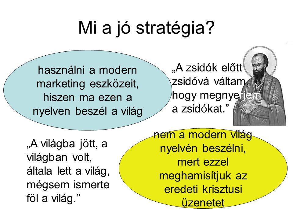 Mi a jó stratégia.