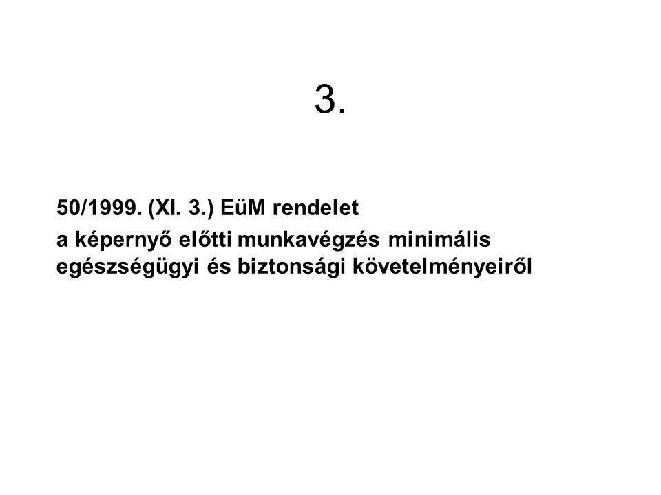 3.50/1999. (XI.