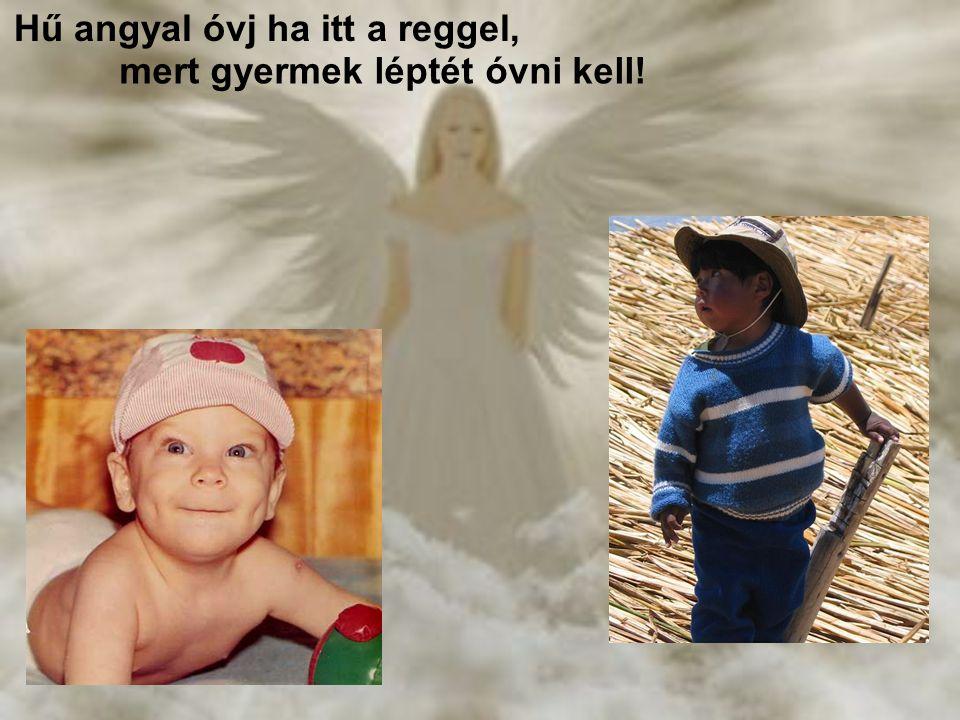 Hű angyal, te hű angyal meg óvsz... Hű angyal meg óvsz… meg óvsz!