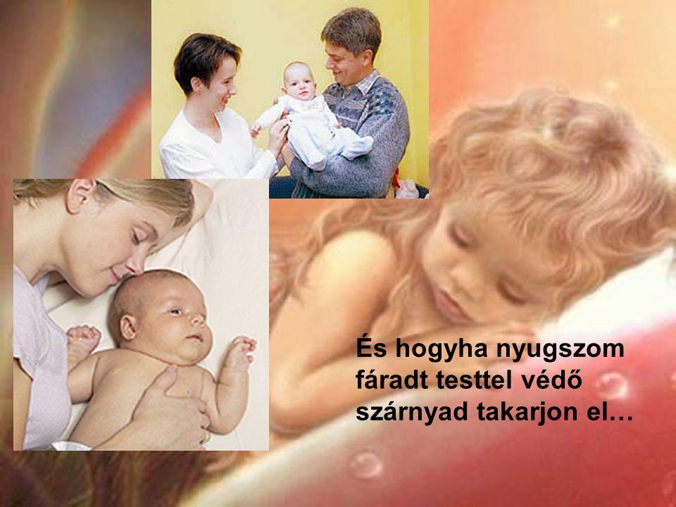 Hű angyal óvj ha itt a reggel, mert gyermek léptét óvni kell!