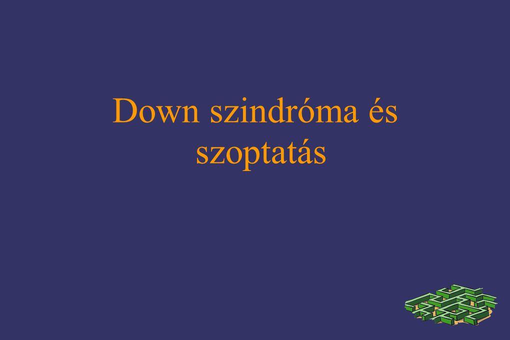 Down szindróma és szoptatás
