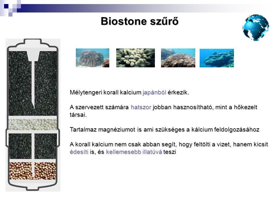 Mélytengeri korall kalcium japánból érkezik. A szervezett számára hatszor jobban hasznosítható, mint a hőkezelt társai. Tartalmaz magnéziumot is ami s