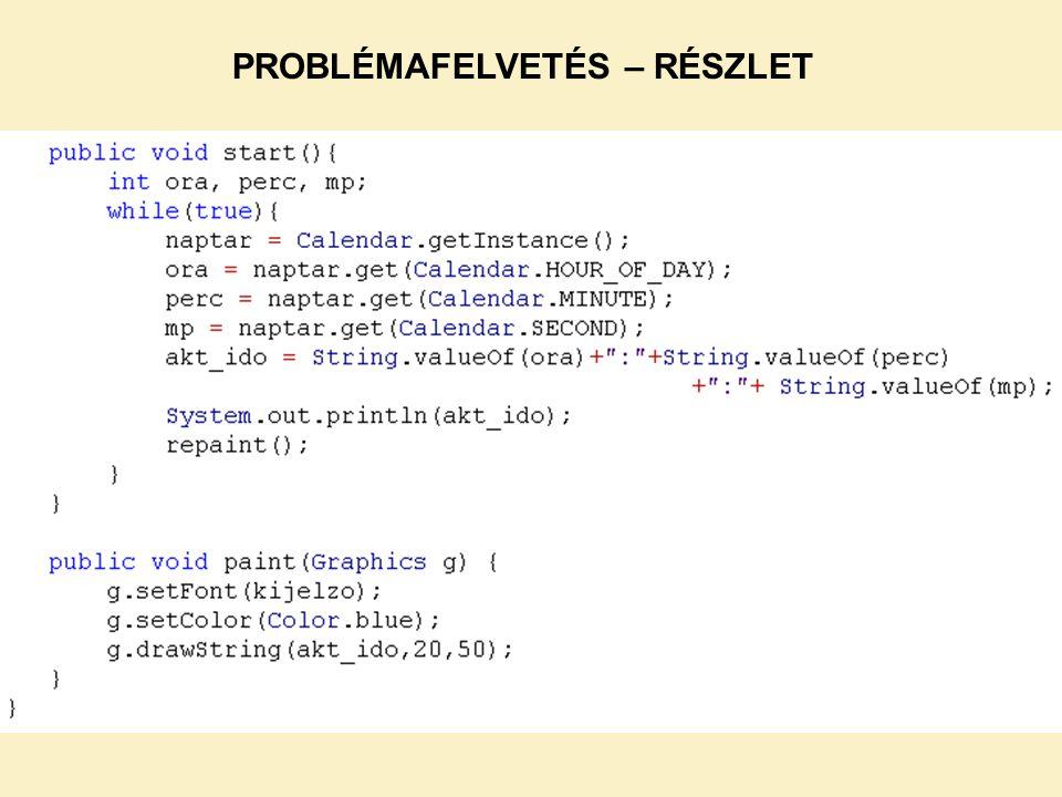 NetBeans-ben működik, JCreator-ban vagy parancsmódban nem.