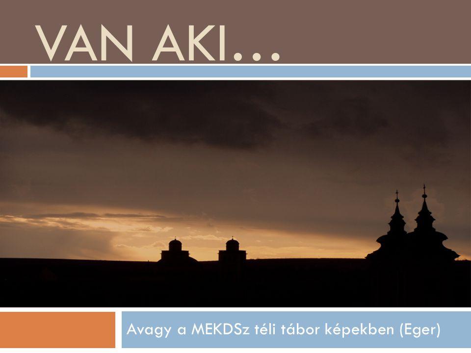 VAN AKI… Avagy a MEKDSz téli tábor képekben (Eger)
