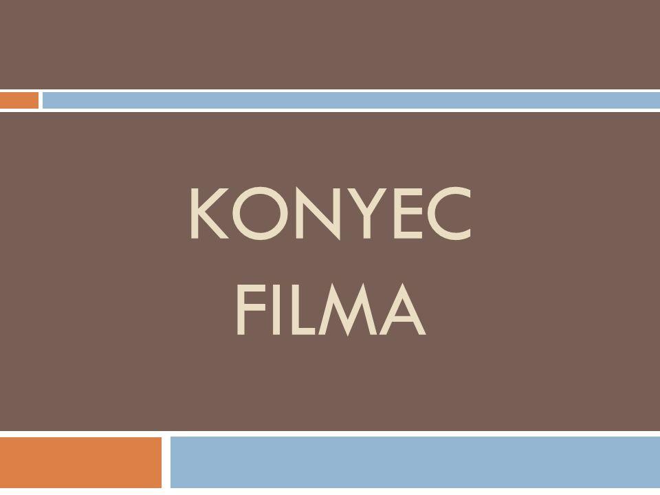 KONYEC FILMA
