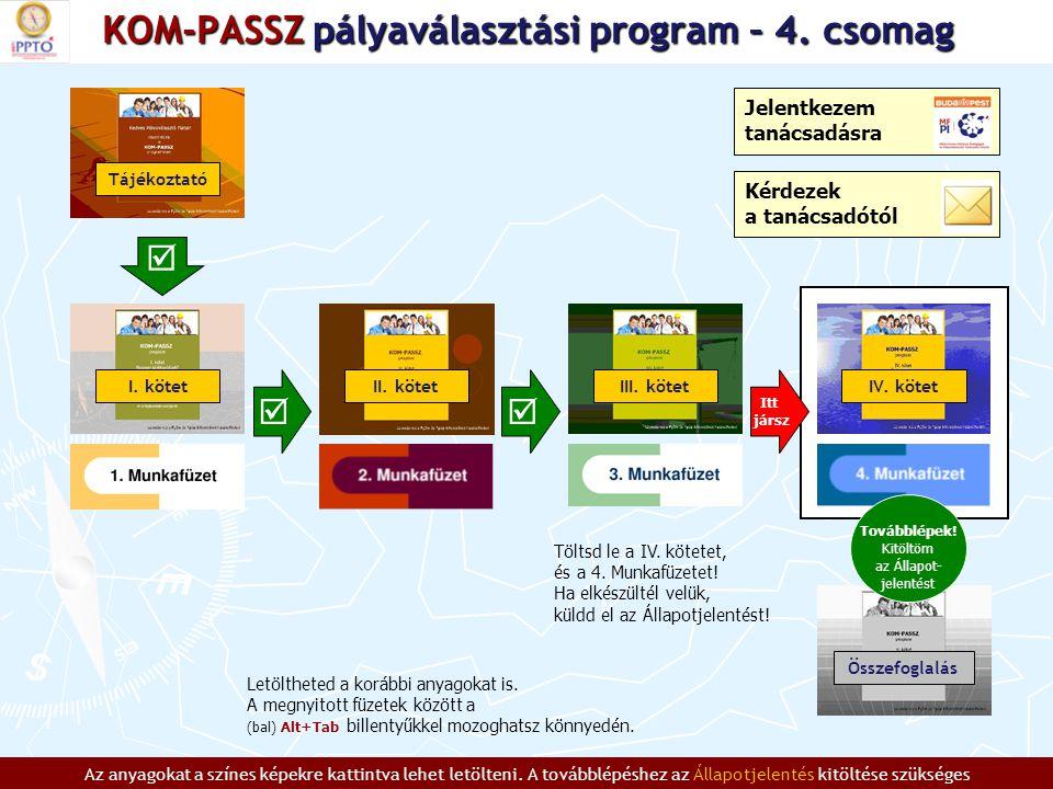 KOM-PASSZ pályaválasztási program – 4.