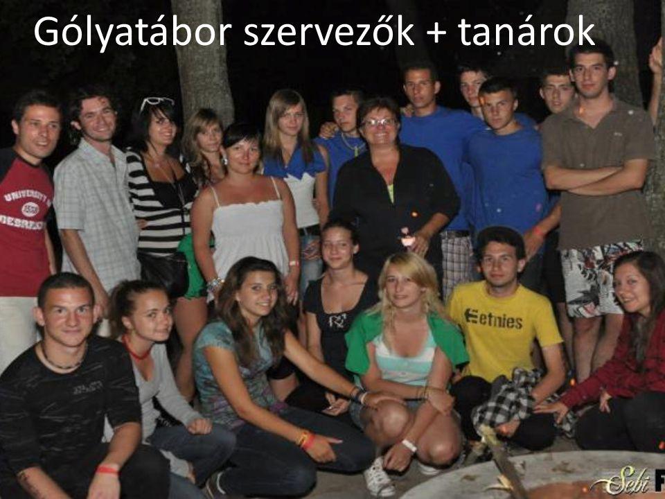 Gólyatábor szervezők + tanárok