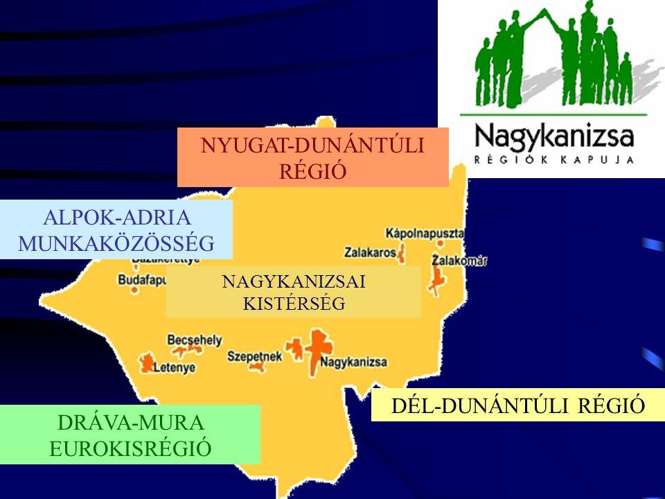 NAGYKANIZSA 2003. Területe: 148,4 km 2 Lakosa: 52518 Belterületi út - 164 km Lakás: 20396 db