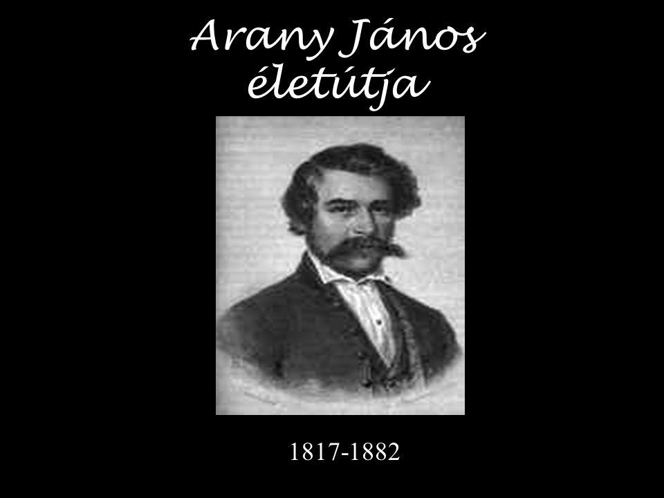 """""""én valék öreg szüleim egyetlen reménye… Arany János 1817."""