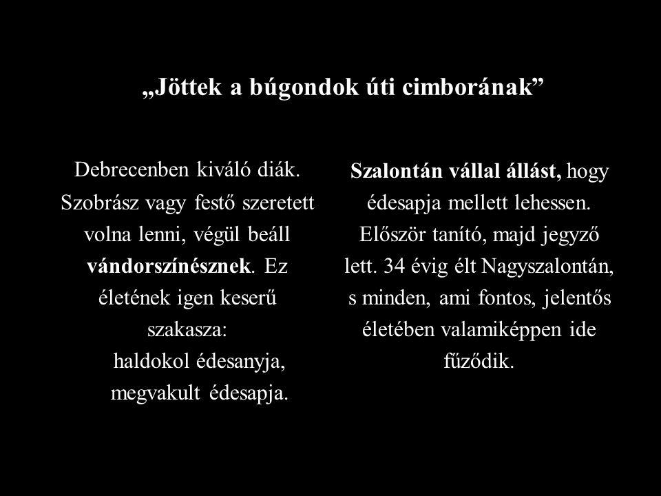 """""""Jöttek a búgondok úti cimborának Debrecenben kiváló diák."""