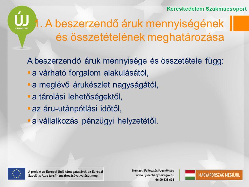 4.Áruátvétel Az áruátvétel a szerződés vagy megrendelés teljesítésének ellenőrzése és igazolása.