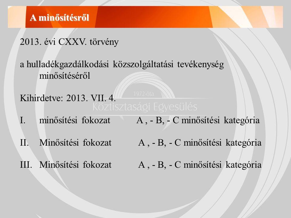 2013. évi CXXV.