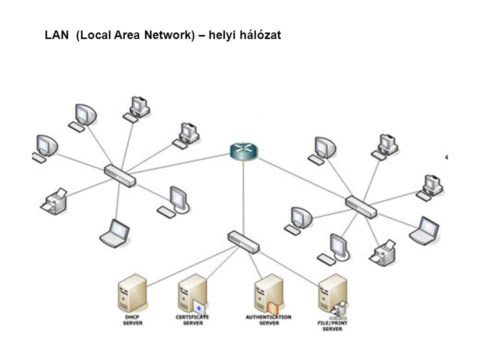 LAN (Local Area Network) – helyi hálózat