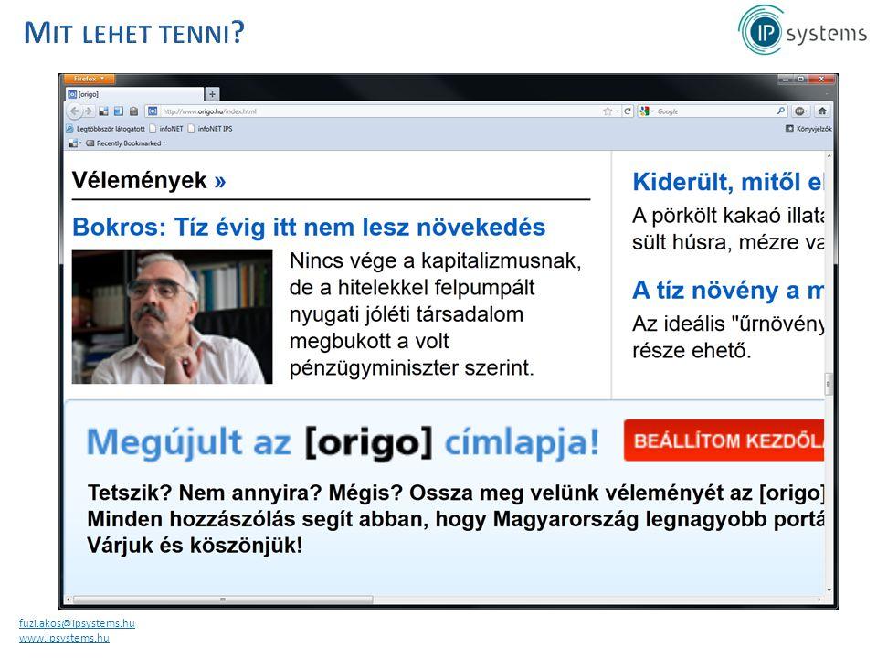 fuzi.akos@ipsystems.hu www.ipsystems.hu