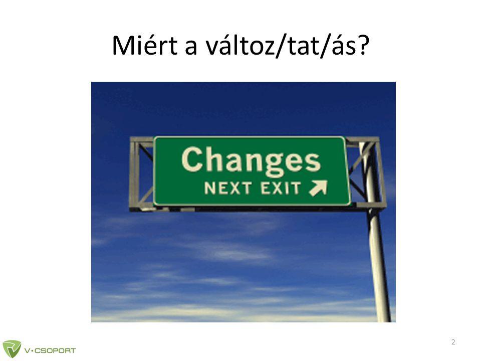 Miért a változ/tat/ás 2