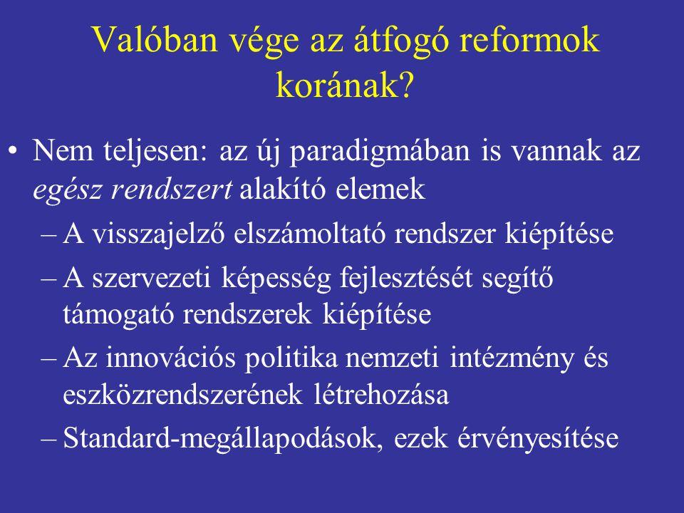 A reform mint tanulás •A XXI.