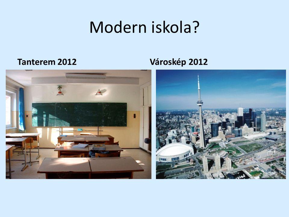 Modern iskola? Tanterem 2012Városkép 2012