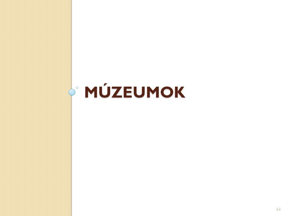 MÚZEUMOK 44