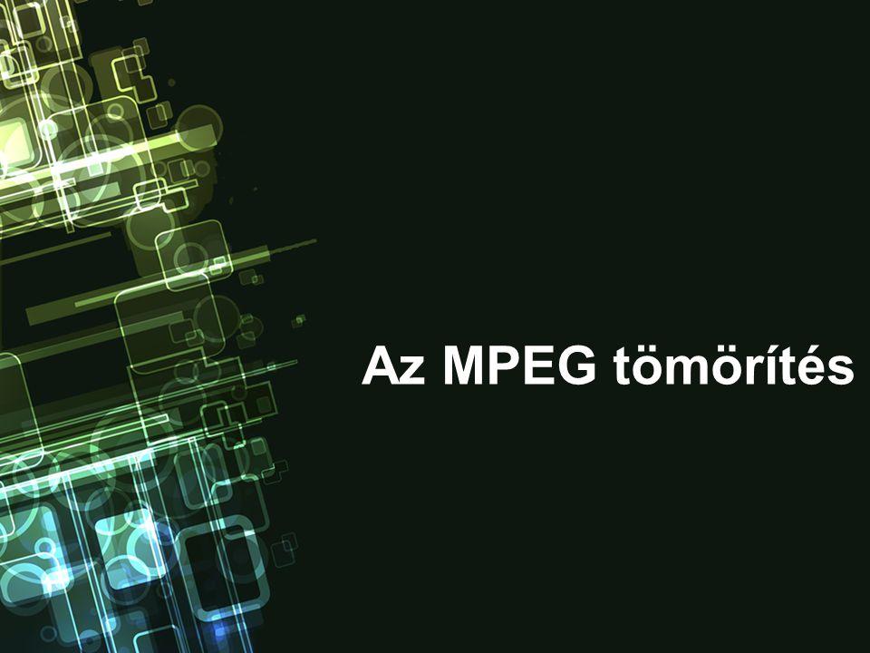 Az MPEG tömörítés