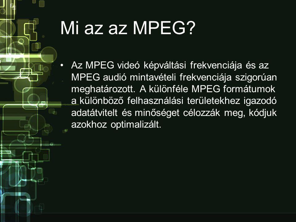 Mi az az MPEG.