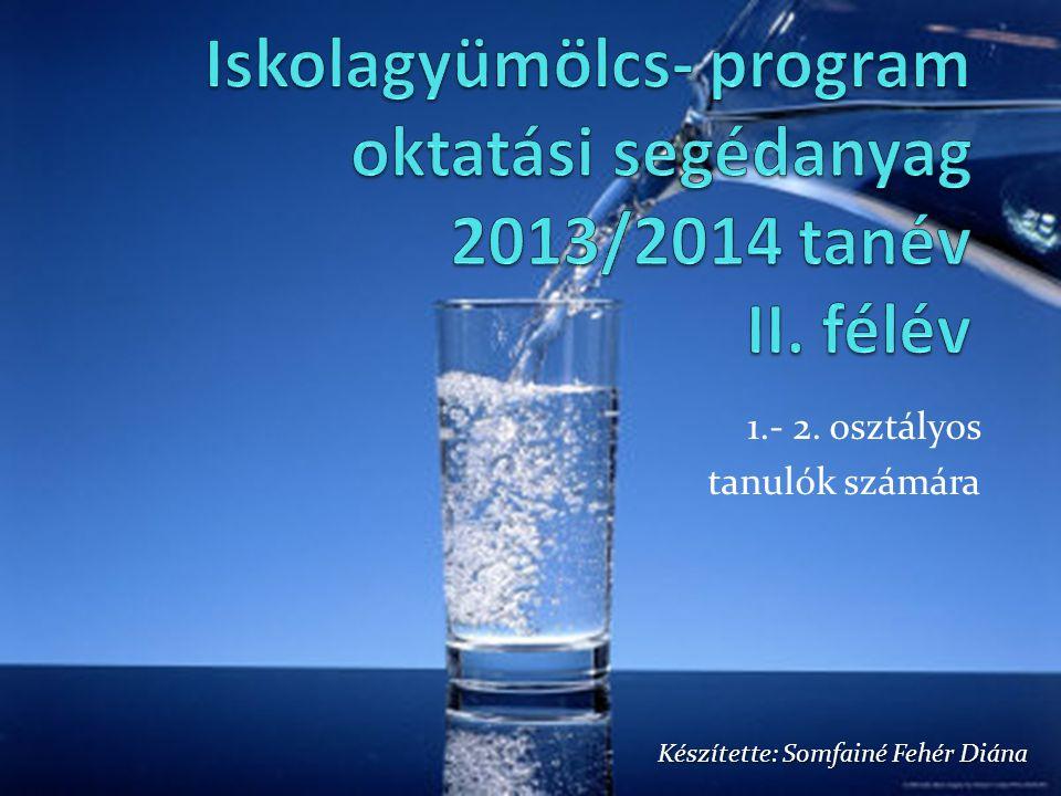 1.- 2. osztályos tanulók számára Készítette: Somfainé Fehér Diána